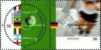 [Germany - Football World Cup Winners 1954, 1974, 1990, type ]