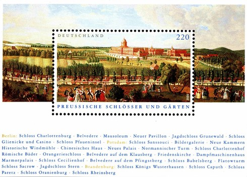 [Prussian Palaces and Gardens, type ]