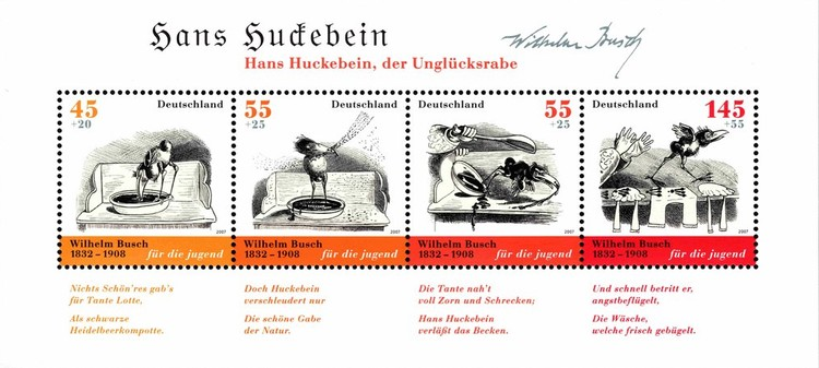 [The 175th Anniversary of the Birth of Wilhelm Busch, Typ ]