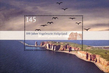 [The 100th Anniversary of the Helgoland Bird Observatory, type ]
