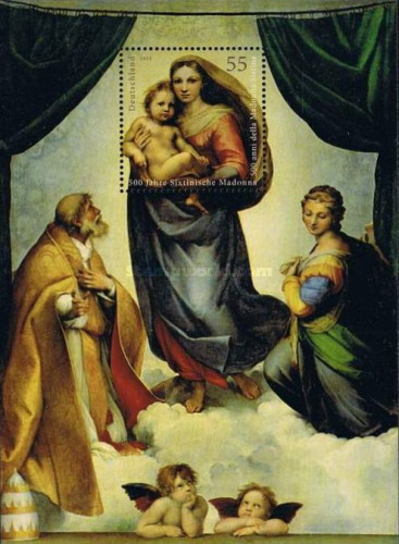 [Paintings - The 500th Anniversary of The Sistine Madonna - Joint Issue with the Vatican City, type ]