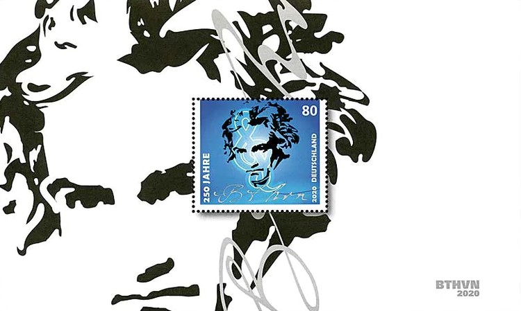 [The 250th Anniversary of the Birth of Ludwig van Beethoven, 1770-1827, Typ ]