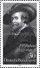 [The 400th Anniversary of the Birth of P.P.Rubens, Painter, Typ AAY]