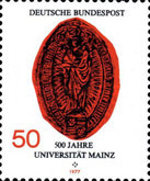 [The 500th Anniversary of the University in Mainz, Typ ABA]