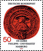 [The 450th Anniversary of the University in Marburg, Typ ABB]