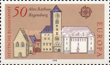 [EUROPA Stamps - Monuments, type ACG]