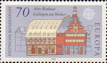 [EUROPA Stamps - Monuments, type ACH]