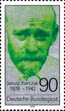 [The 100th Anniversary of the Birth of Janisz Korczak, Writer, type ACJ]