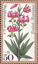 [Charity Stamps - Flowers, type ACU]