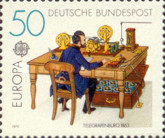 [EUROPA Stamps - Post & Telecommunications, type ADU]