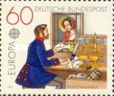 [EUROPA Stamps - Post & Telecommunications, type ADV]