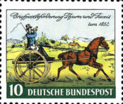 [The 100th Anniversary of the First Stamp From Thurn & Taxis, type AE]