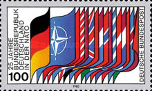 [The 25th Anniversary of the Federal Republic Entering NATO, Typ AER]