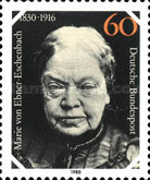 [The 150th Anniversary of the Birth of Marie von Ebner Eschenbach, Writer, Typ AFO]