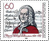 [The 300th Anniversary of the Birth of Georg Philipp Teleman, Composer, Typ AGC]