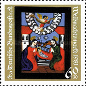 [Christmas Stamps, type AHE]