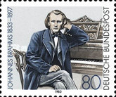 [The 150th Anniversary of the Birth of Johannes Brahm, Composer, Typ AJQ]