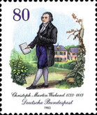[The 250th Anniversary of the Birth of C.Martin Wieland, Poet, Typ AJW]
