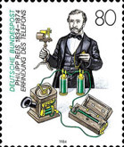 [The 150th Anniversary of the Birth of Philipp Reis, Inventor, Typ AKL]