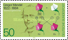 [The 100th Anniversary of the Death of Gregor Mendel, Scientist, Typ AKM]