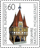 [The 500th Anniversary of the City Hall of Michelstadt, Typ AKN]