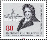 [The 200th Anniversary of the Birth of Friedrich W.Bessel, Mathematician and Astronomer, Typ ALF]