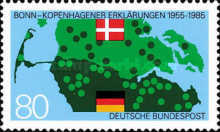 [The 30th Anniversary of the Copenhagen-Bonn Declaration - Joint Issue with Denmark, type AMB]