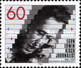 [The 100th Anniversary of the Birth of Egon Erwin Kisch, Journalist, type AMH]