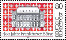 [The 400th Anniversary of the Frankfurt's Stock Exchange, type AMR]