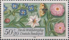 [Charity Stamps - Flowers, type AMT]
