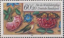 [Charity Stamps - Flowers, type AMU]