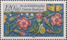 [Charity Stamps - Flowers, type AMW]