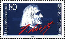 [The 100th Anniversary of the Birth of Franz Liszt, Composer and Pianist, type ANT]