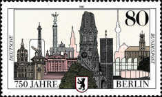 [The 750th Anniversary of Berlin, type AOO]