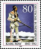 [The 75th Anniversary of the Death of Karl May, Writer, type AOW]