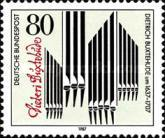 [The 350th Anniversary of the Birth of Dietrich Buxtehude, Composer and Organist, type APF]