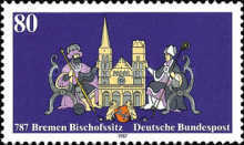 [The 1200th Anniversary of Bremen's Episcapal Residence, type APL]