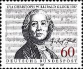 [The 200th Anniversary of the Death of  Christoph Willibald Gluck, Composer, type APZ]