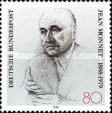 [The 100th Anniversary of the Birth of Jean Monnet, Politician, type ARC]