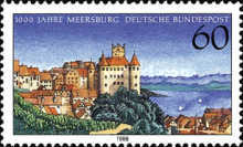 [The 1000th Anniversary of the Meersburg Castle, type ARG]