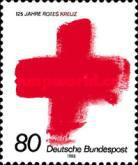 [The 125th Anniversary of the Red Cross, type ARQ]