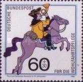 [Charity Stamps - Post Delivery in the Last Century, Typ ATK]