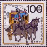 [Charity Stamps - Post Delivery in the Last Century, Typ ATM]