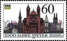 [The 2000th Anniversary of Speyer, Typ ATR]