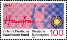 [The 75th Anniversary of the Society of German Women, Typ AUH]