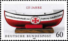 [The 125th Anniversary of the German Life Boat Service, Typ AUM]