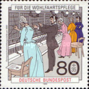[Charity Stamps - Postal Delivery & Telephone Communication, Typ AUW]