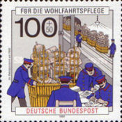 [Charity Stamps - Postal Delivery & Telephone Communication, Typ AUX]