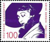 [The 100th Anniversary of the Birth of Käthe Dorsch, Actrees, Typ AVG]