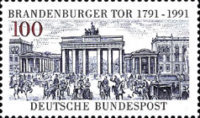 [The 200th Anniversary of the Brandenburger Tor, type AVP]